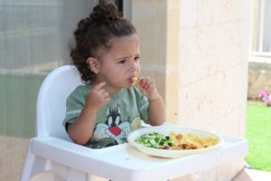 Baby eating, baby led weaning foods